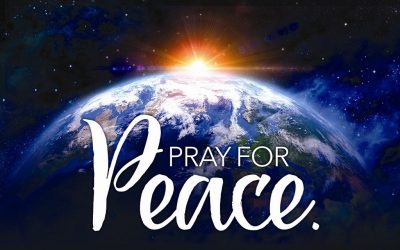 Pray for peace.  You've got the power!