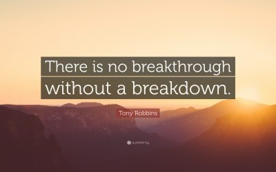 Breakdown to Breakthrough:1 Crisis